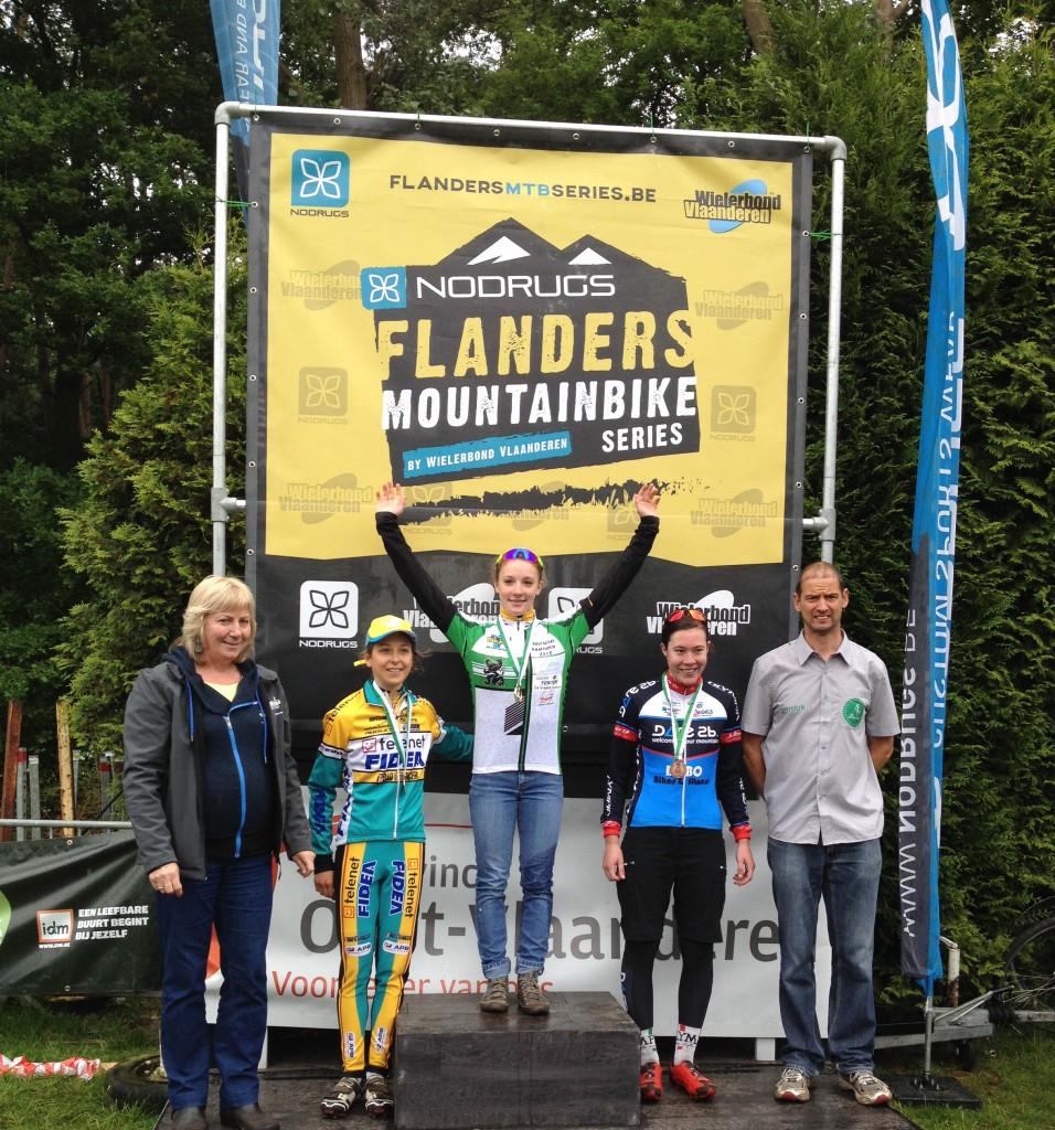 Oost-Vlaams Kampioene 2015 in Moerbeke